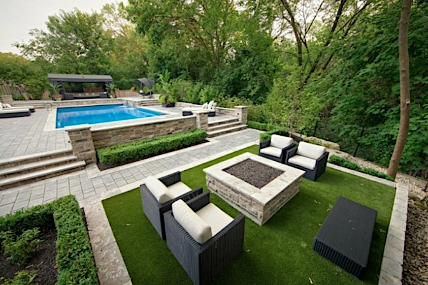Artificial Turf as Carpet for Outdoor Furniture - Jacks Turf on Turf Patio Ideas id=88882